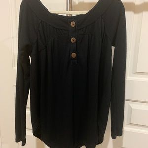 Free people waffle top small